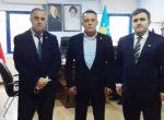 Yeniden Refah Partisi Esenler İlçe Başkanı İlçemizi ziyaret ettiler